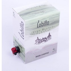 Lobillo Vino Blanco (Bag in Box 5 Litros)