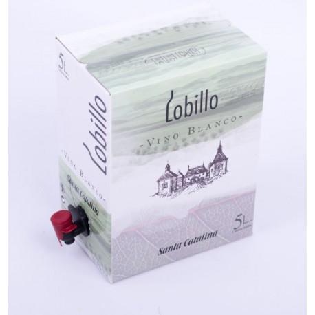 Lobillo Vino Blanco (Bag in Box 5 Litros)
