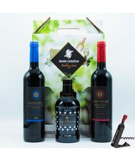 Pack Ecológico Vinos y Aceite