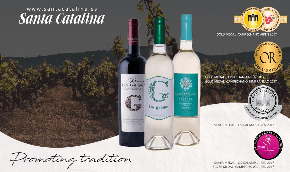 Nuestros vinos reciben seis nuevos premios